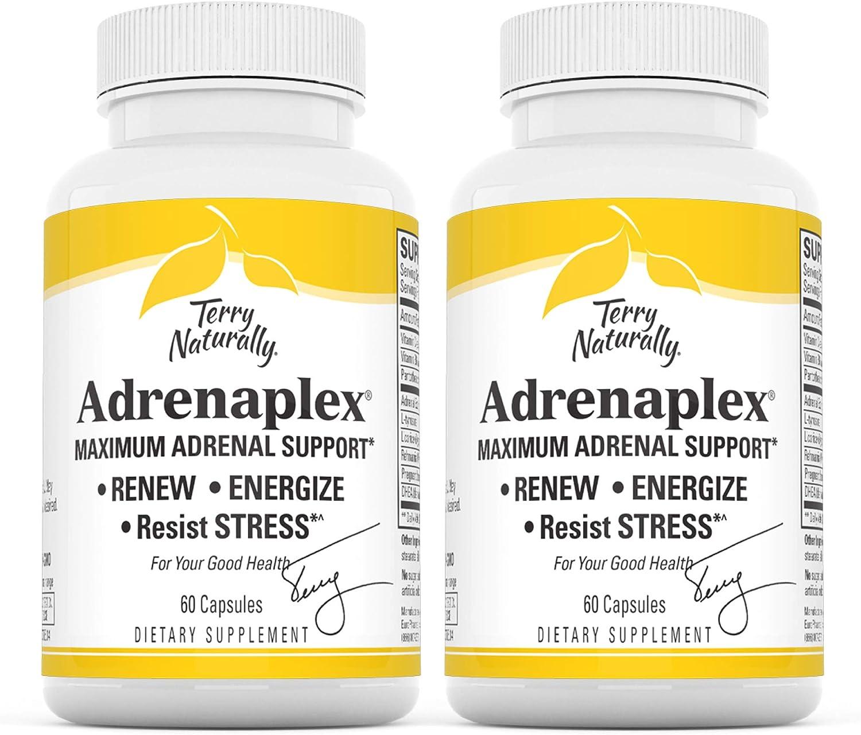Terry Naturally Adrenaplex - 60 Capsules - Pack of 2 - Maximum A