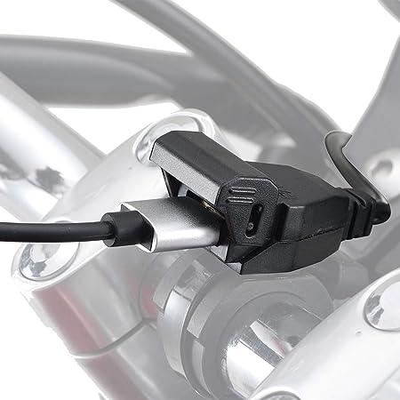 デイトナバイク用USB電源5V/2.4Aブレーキスイッチ接続メインキー連動USB-A1ポート99502