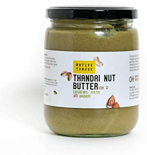 Native Tongue's Thandai Nut Butter (500 Gms)