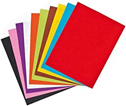Asian Hobby Crafts A4 Size Colored Felt (10 Pieces)