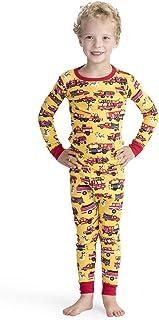 Hatley Organic Cotton Long Sleeve Printed Pyjama Set Conjuntos de Pijama para Niños