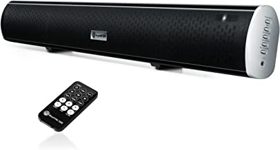 GOgroove TV Sound Bar Wireless Bluetooth Speaker - BlueSYNC SBR Home Theater 2.1 Soundbar with 4 Audio Inputs (Optical, AUX, RCA, Bluetooth), Built-in EQ, Wall Mounting Kit, 31-Inch Sound Bar for TV