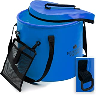horse feed bucket with lid