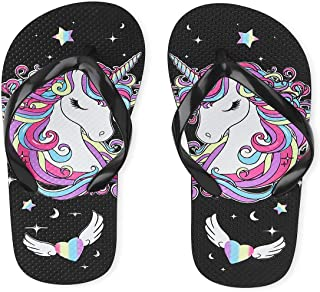 The Children's Place Unisex-Child Unicorn Flip Flops Slipper