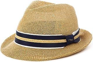 1709feb25bc Mens Straw Panama Fedora Packable Sun Summer Beach Hat Trilby for Women  Beige