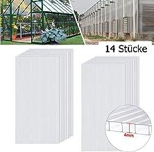 tectake 800390 Serre de Jardin en Aluminium Ch/âssis de Couche Mat/ériaux R/ésistants aux Intemp/éries Diverses Mod/èles Mod/èle 1 | No. 402340