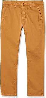 Nudie Unisex Slim Adam Camel Casual Pants