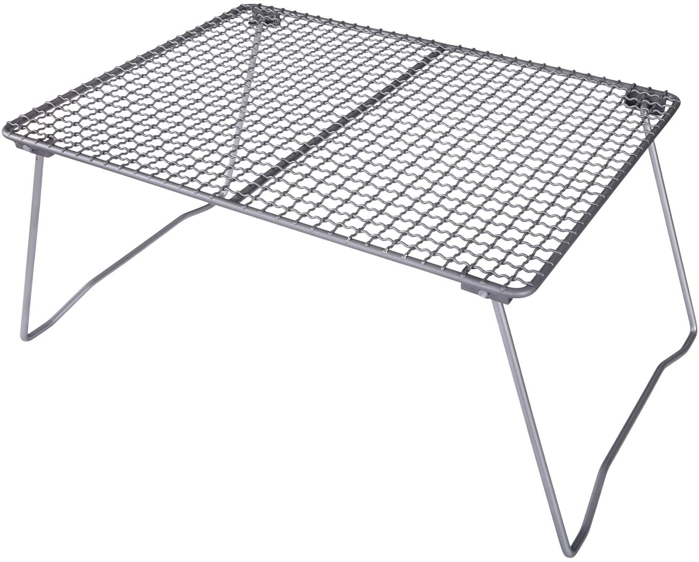 Boundless 2021new shipping free Voyage Titanium Folding Net Legs Grill Quality inspection Removable with