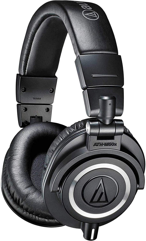 Audio Technica ATH M50x Professional Monitor Headphones