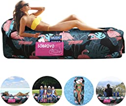 Inflatable Lounger Air Sofa Portable Waterproof Inflatable Pouch Couch with Pillow and Carrying Bag for Outdoor Camping, Picnics, Pool, Travel, Hiking, Beach