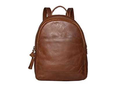 Frye Melissa Medium Backpack (Cognac) Backpack Bags