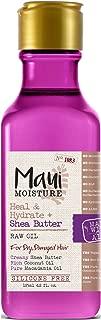 Maui Moisture Shea Butter Raw Oil 4.2 Ounce (Heal & Hydrate) (125ml) (2 Pack)