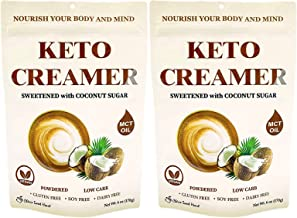 Cherie Sweet Heart Keto Creamer With MCT Oil, Sweetened With Coconut Sugar, Dairy Free, Coffee Creamer Milk Substitute (12...