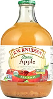 R W Knudsen Organic Apple Cloudy Juice, 96 Fluid Ounce -- 6 per case.