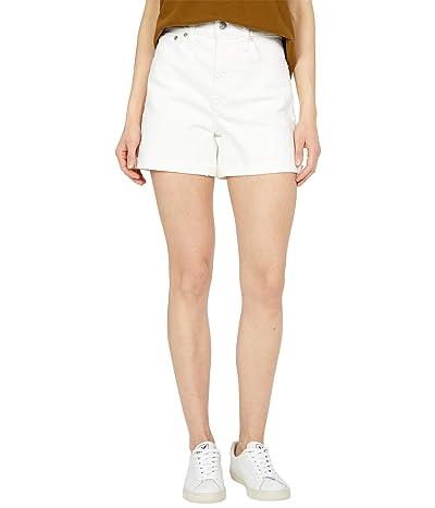 Madewell High-Rise Denim Shorts in Tile White Women