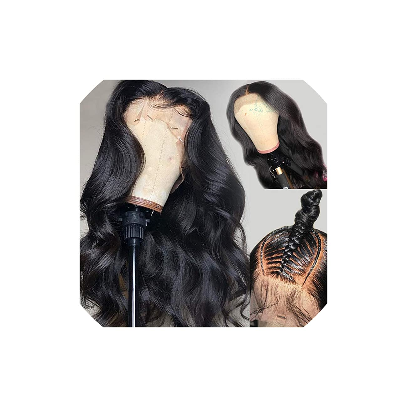 Body Wave Wig 13x6 Deep Part Lace Front Human Hair Wigs for Black Women Full Ends PrePlucked with Baby Hair Atina,12inches,130%