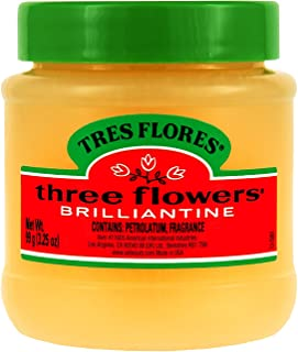 Three Flowers Brilliantine Solid, 3.25-Ounce (Pack of 3)