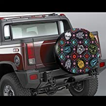Heatracty Star Wars Thicken Tire Covers Spare Tire Cover Waterproof Dust-Proof Universal Spare Wheel Tire Cover Fit for Jeep Trailer RV SUV Many Vehicle 15 16 17in