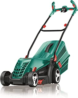 Bosch Lawn Mower ARM 37 (1400 Watt, 37cm Cutting Width, 5 Height Settings,10m Power Cable, 40 Litre Grassbox)