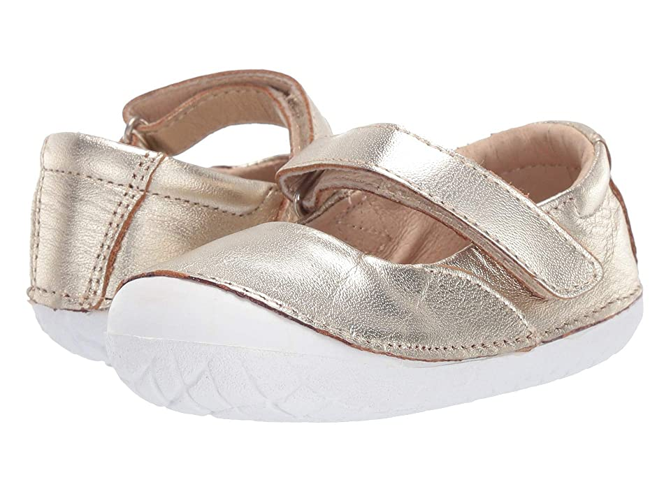 Old Soles Pave Jane (Infant/Toddler) (Gold) Girls Shoes