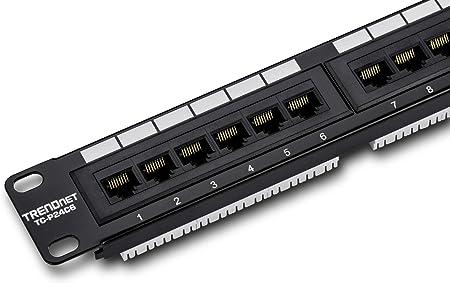 TRENDnet 24-Port Cat6 Unshielded Patch Panel