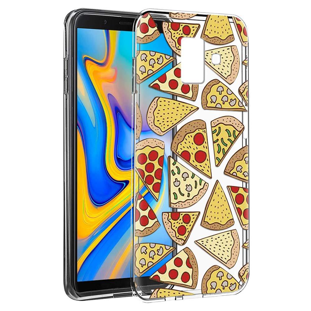 ZhuoFan Funda Samsung Galaxy J6 Plus, Cárcasa Silicona 3D Transparente con Dibujos Diseño Suave Gel TPU [Antigolpes] de Protector Fundas para Movil Samsung J6Plus: Amazon.es: Electrónica
