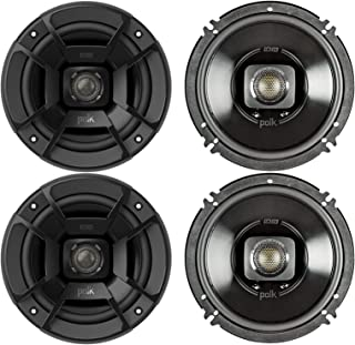 """Polk Audio - Two Pairs of DB652 6.5"""" Coaxial Speakers - Marine and Powersports Certification photo"""