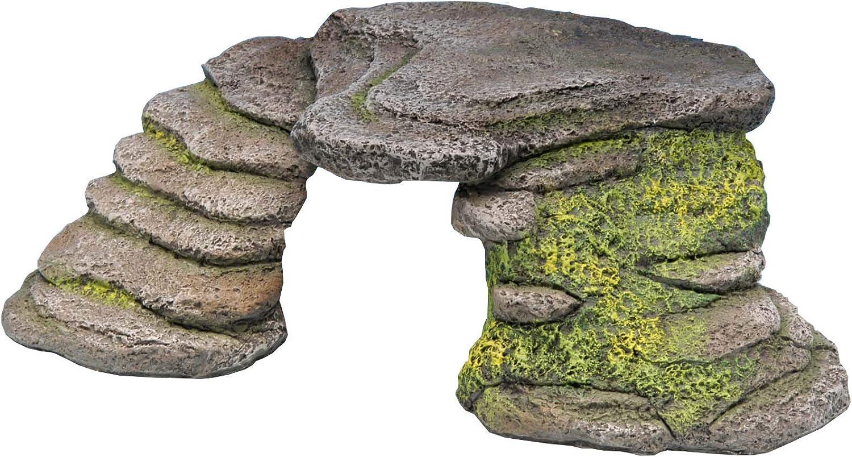 Penn-Plax Reptology Shale Step Ledge for Japan's Ranking TOP7 largest assortment Terrariums Aquariums