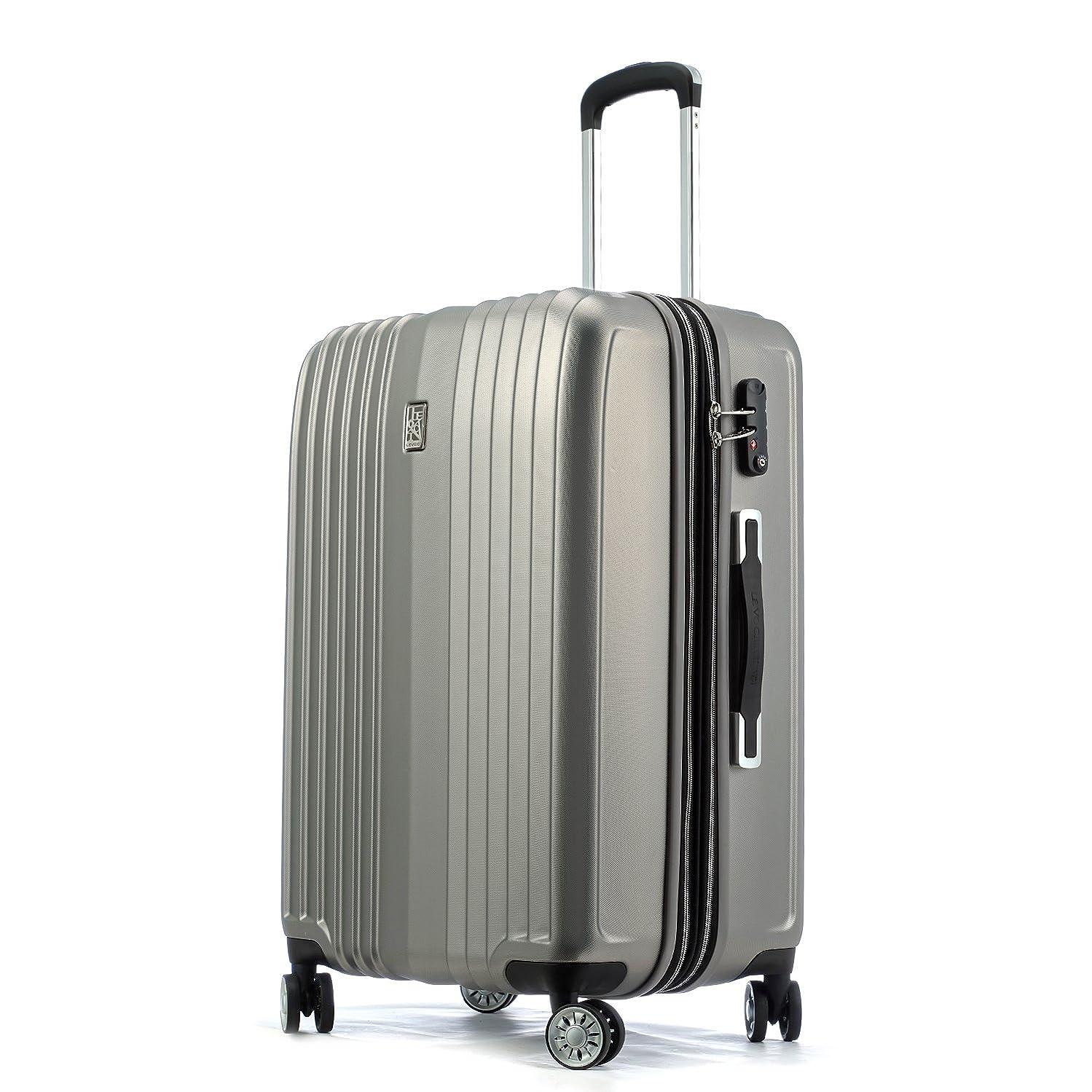 いつもアナウンサー懺悔Totell スーツケース 容量拡張機能付 キャリーケース 超軽量 【1年間修理保証】トランク 旅行 TSAロック搭載 大容量 静音8輪 キャリーバッグ s型 機内持込可