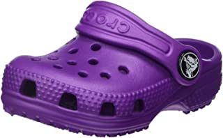 Crocs Kids' Classic Clog, Amethyst, 7 M US Toddler