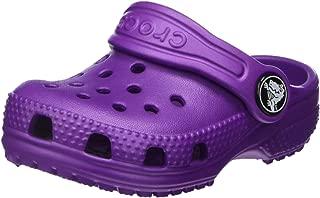 Crocs Kids' Classic Clog, Amethyst, 11 M US Little Kid