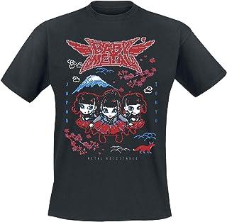 Babymetal Pixel Tokyo Männer T-Shirt schwarz Band-Merch, Ba