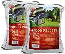 Z GRILLS BBQ Wood Pellet for Grilling Oak pellets,20LB Per Bag (2) Made in USA