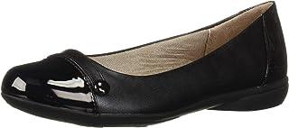 حذاء باليه مسطح للنساء من LifeStride, (أسود), 6.5 Wide