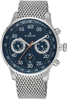 ced0c89a0c2b Reloj Radiant para Hombre con Correa Plateado y Pantalla en Azul RA444605