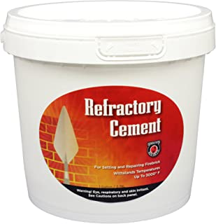MEECO'S RED DEVIL 611 Refractory Cement - Indoor Use Only