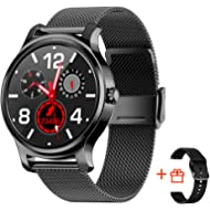 SMA-R2 Smart Watch with Blood Pressure Monitor for Men for Android Phones and iOS smartwatch for...