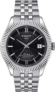 Tissot - orologio Ballade Powermatic 80 Silicium COSC 41mm Antracite automatico Acciaio T108.408.11.058.00