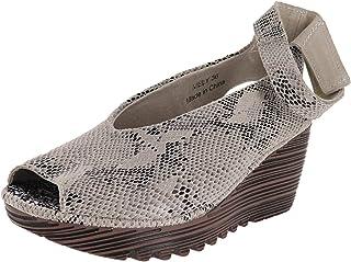 حذاء برني ميف نسائي على شكل قلعة،