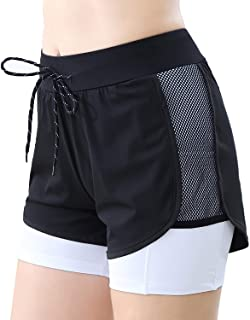 BEROY Womens Sports Skirts Summer Athletic Skorts Active Casual Tennis Golf Workout with Pockets Shorts