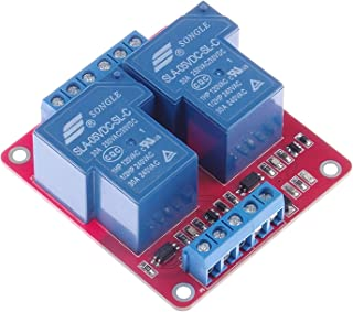 DC 5V SLA-5VDC-SL-C DC 5V AC 250V 30A Dual Relay Module 30A 2-Channel Relay Module optocoupler Isolation