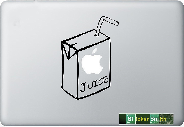 Apple Juice Indianapolis Mall Box Great interest Macbook Decal Laptop Mac Pro Stick