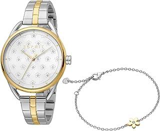 ESPRIT Women's Debi Flower Fashion Quartz Watch - ES1L177M0115
