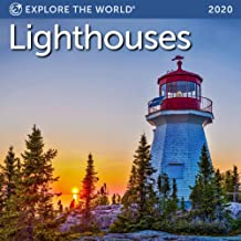 Lighthouses Mini Wall Calendar 2020 Monthly January-December 7