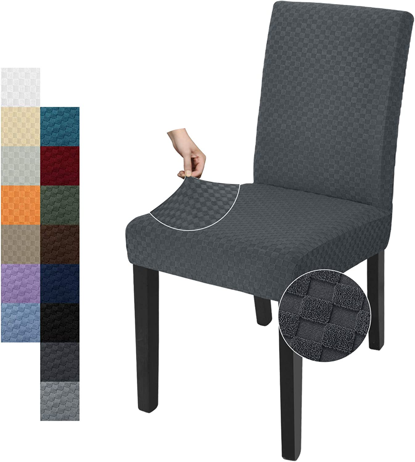 YEMYHOM 6 Packs Latest Checkered 100% quality warranty Outlet SALE Chair Parsons Slipcover Dining