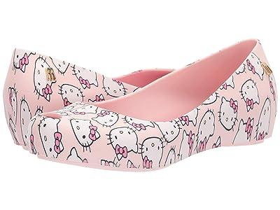 Mini Melissa Mel Ultragirl Hello Kitty (Little Kid/Big Kid) (Pink) Girl