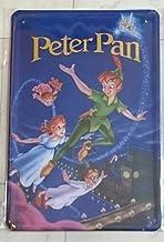 Unbekannt Cartel de Chapa 20x 30cm Peter Pan Cuento de Dibujos Animados Comic Dibujos Animados Metal Cartel