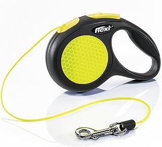 Croci C5055674 Llevar Perro Flexi Nuevo Neon Cable XS 3 M