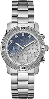 Guess Womens Quartz Watch, Analog Display and Stainless Steel Strap W0774L6