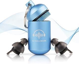 SCHALLWERK ® - 30 dB Sueño + Tapones Protección Auditiva – Protege La Oreja Y Consigue Sueño Reparador